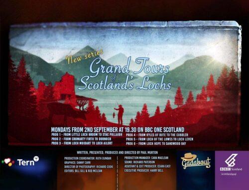 My TV Appearance on Grand Tours of Scotland's Lochs by Steve Bretel